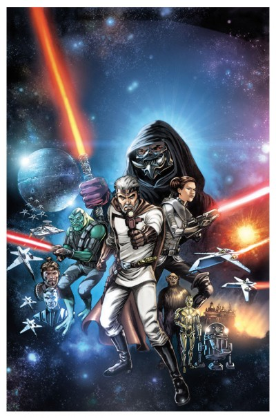 The Star Wars Cover B