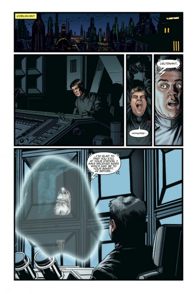 Star Wars: Dark Times -- A Spark Remains #3, Page 1