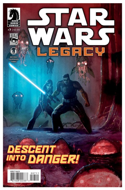 Star Wars: Legacy #7 cover