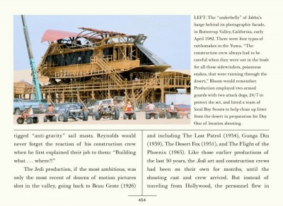 Building Jabba's sail barge from The Making of Return of the Jedi eBook
