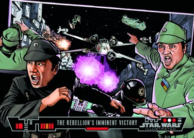 The Rebellion's Imminent Victory - Topps Star Wars Illustrated Trading Card