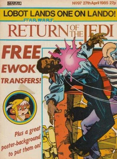 Return of the Jedi Weekly featuring action transfers