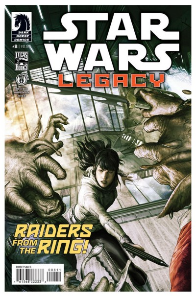 Star Wars Legacy #8 cover