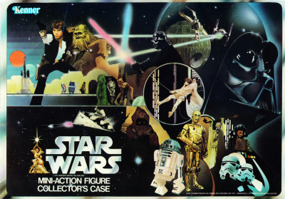 Star Wars Mini-Action Figure Collector's Case packaging art
