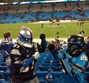Patriots Trooper versus Panthers trooper, round 2