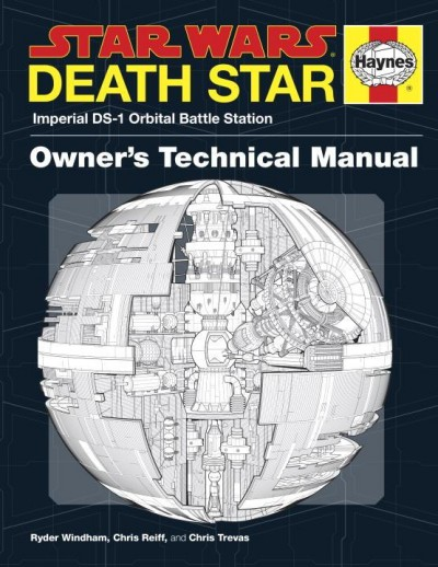Cover art for the US edition of the Death Star Owner's Technical Manual. The UK edition is titled Imperial Death Star Owner's Technical Manual.