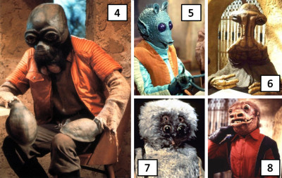 Teak Sidbam and more from the Star Wars Holiday Special
