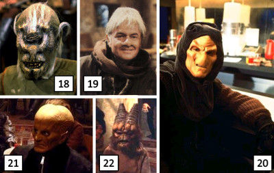 Cyceyed and others from the Star Wars Holiday Special