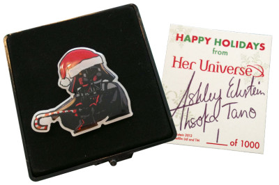 Her Universe Star Wars holiday pin