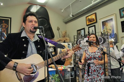 Randy Martinez and Denise Vasquez perform