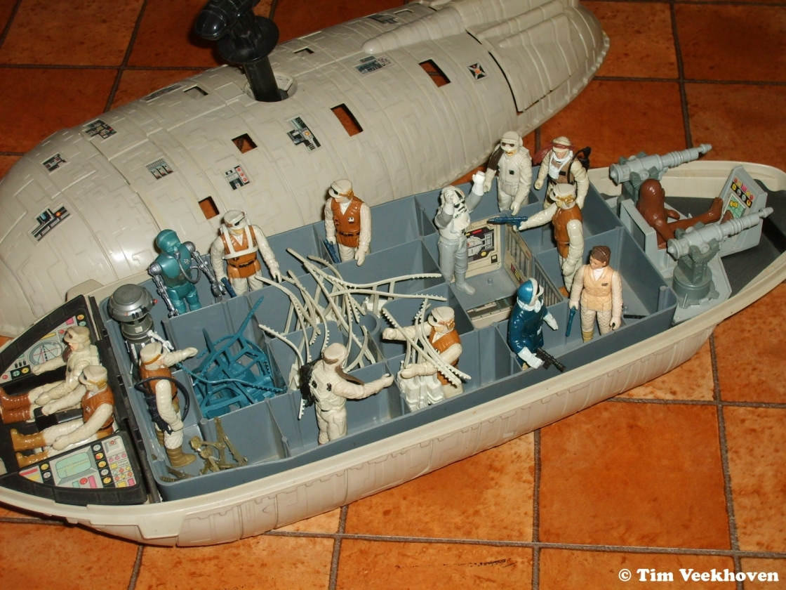 Old Star Wars Toys : Vintage kenner collector s cases warning may cause