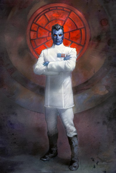 Thrawn held the ceremonial title of Warlord of the Empire and artfully rallied most of the post-Endor Imperials to his cause