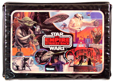 Vintage The Empire Strikes Back vinyl case