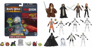Angry Birds Star Wars toys and Star Wars action figures