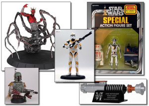 eFX, Attakus, and Gentle Giant Star Wars collectibles
