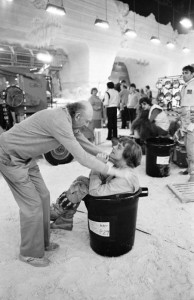Irvin Kershner and Mark Hamill