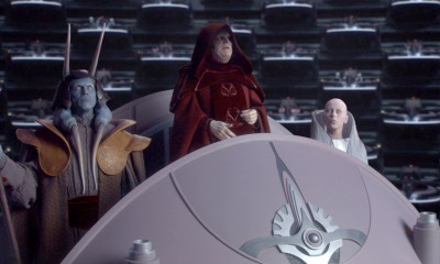 Emperor Palpatine in the Senate