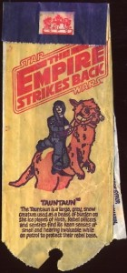 Star Wars Lyons Maid lollipop packaging