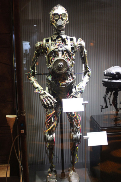 C-3PO's early form from The Phantom Menace