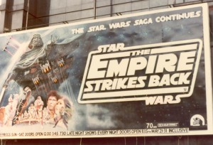 The Empire Strikes Back at The Odeon, 1980