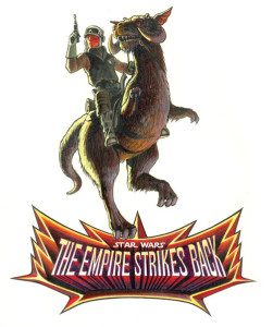 The Empire Strikes Back logo by Ralph McQuarrie