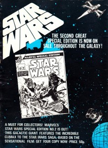 An ad for Marvel's Star Wars #2