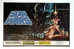Ad for the Star Wars UK premiere on 27th Dec 1977