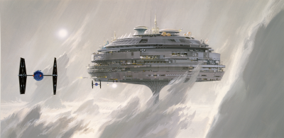 Imperial City concept art by Ralph McQuarrie
