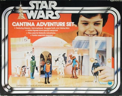 Kenner's Cantina Adventure Set box