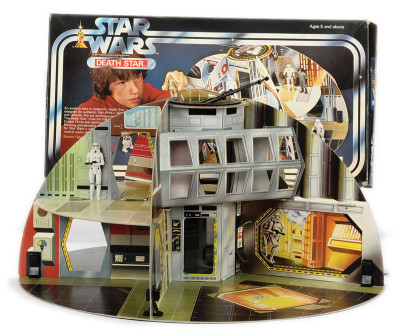 Cardboard Death Star playset