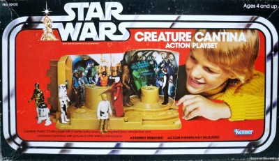 Kenner's Creature Cantina Action Playset