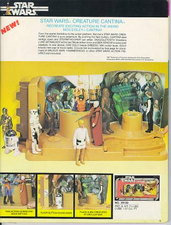 Kenner's Creature Cantina Action Playset ad