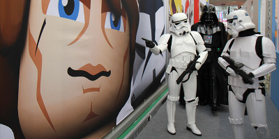Darth Vader and Stormtroopers hit Toy Fair