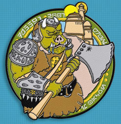 Jerry Treiber's personal 501st Legion patch