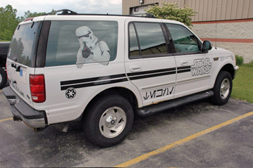 Jerry Treiber's Star Wars Ford Expedition