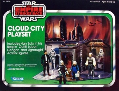 Kenner's Star Wars Cloud City playset