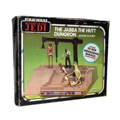 Jabba the Hutt Dungeon Action Playset