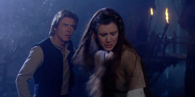 Han and Leia Ewok Village argument in Return of the Jedi