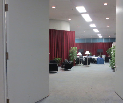 Potential green rooms for Star Wars Celebration 2015