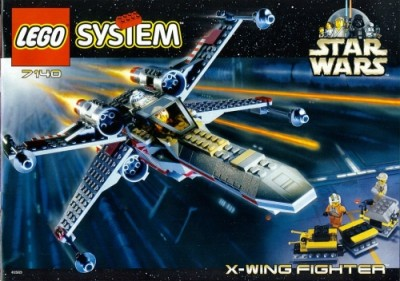 LEGO Star Wars X-wing fighter, released under the LEGO System brand