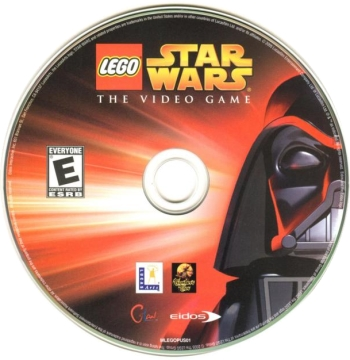 LEGO Star Wars: The Video Game disc
