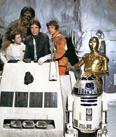 A publicity photo from The Empire Strikes Back