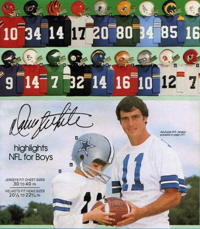 Football at in Sears Wish Book app