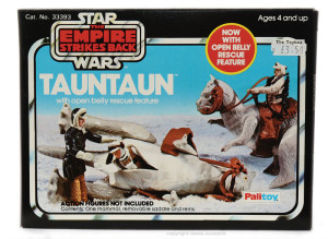 Kenner's Tauntaun with open belly