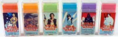 Star Wars perfumed erasers by H.C. Ford & Sons Ltd.