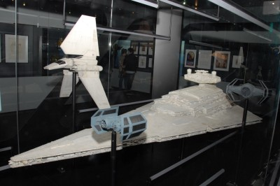 TIE fighters and Star Destroyers at Star Wars Identities