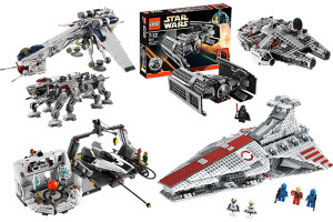 LEGO Star Wars vehicles and playsets