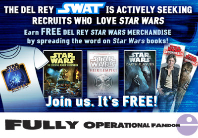 Del Rey's Star Wars books SWAT
