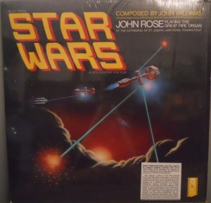 Music From Star Wars - John Rose Playing the Great Pipe Organ