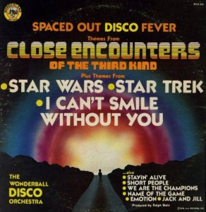 Spaced Out Disco Fever. Compilation album by The Wonderball Disco Orchestra